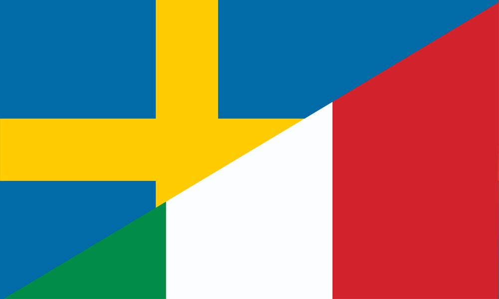 Sverige-Italien